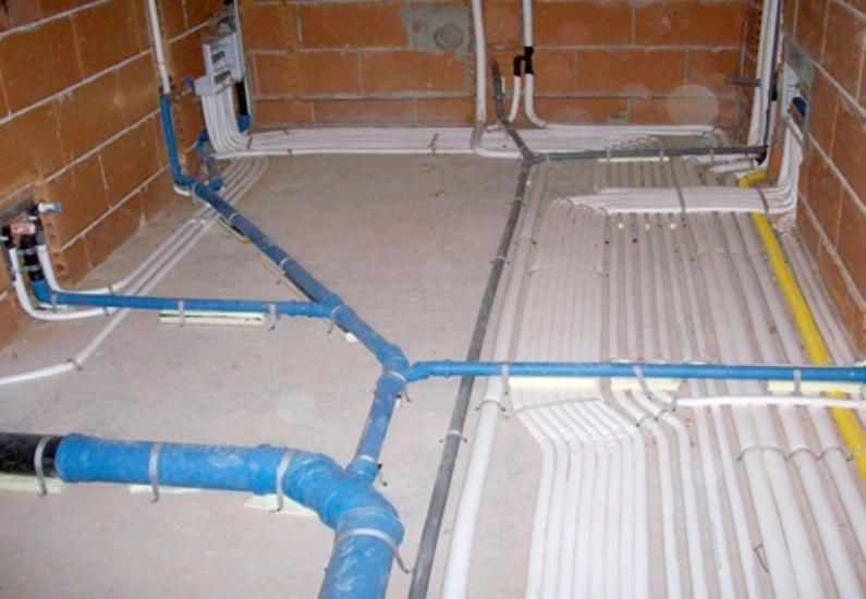 Realizziamo impianti idrico e termo sanitario - Impianto idraulico del bagno ...
